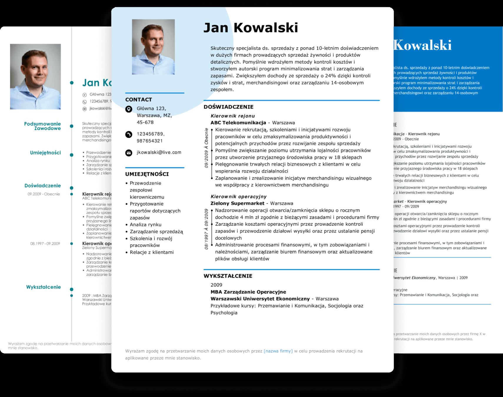 Stwórz CV w kreatorze LiveCareer