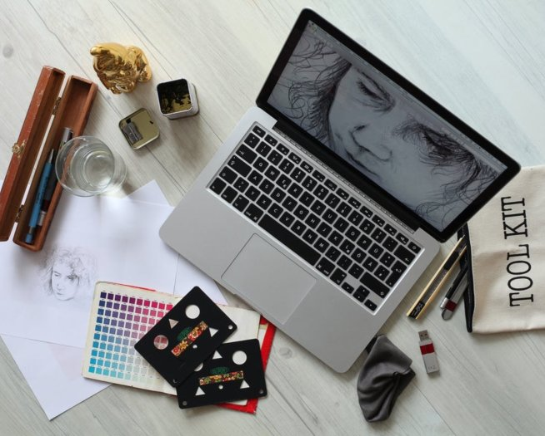 CV / list motywacyjny grafika - wzór dla graphic designera